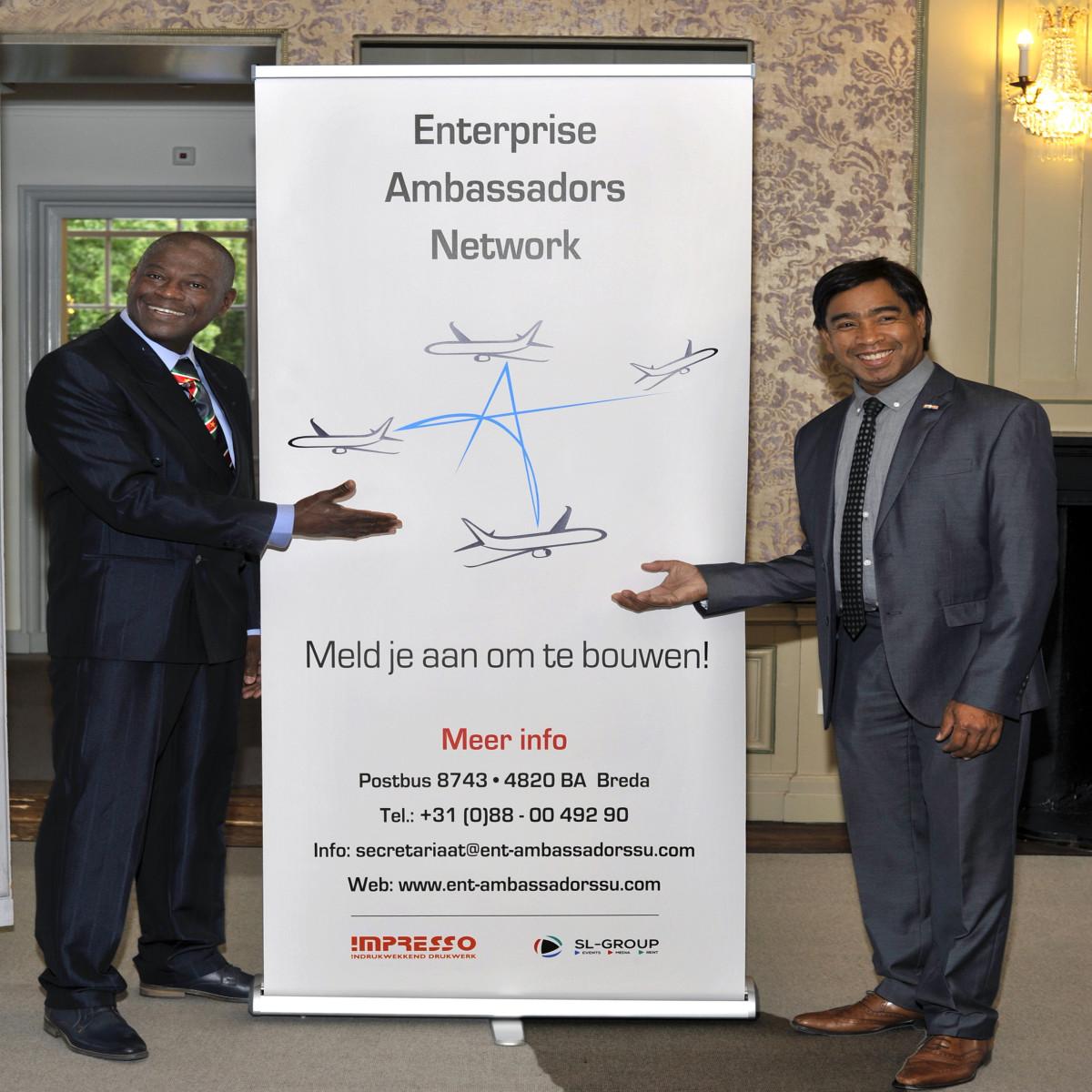 Foto's van de lancering van het Enterprise Ambassadors Network 1
